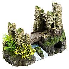 Top Fin® Castle Bridge Aquarium Ornament