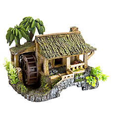 Top Fin® Tropical Beach Hut Aquarium Ornament