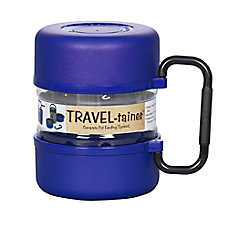 Gamma Plastics Travel-Trainer Pet Feeder
