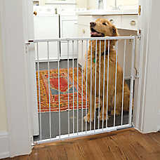 Cardinal Side and Top Extendable Metal Pet Gate