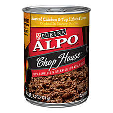Purina® ALPO® Chop House Originals® Adult Dog Food - Roasted Chicken & Top Sirloin