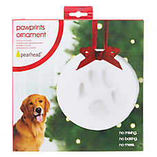 PAWPRINTS Holiday DIY Paw Print Ornament