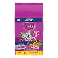 WHISKAS® Hairball Control Cat Food