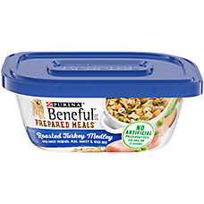 Purina® Beneful® Prepared Meals Dog Food - Roasted Turkey Medley