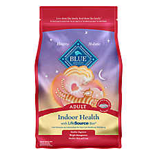 BLUE™ Indoor Health Salmon & Brown Rice Indoor Adult Cat Food