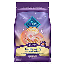 BLUE™ Healthy Aging Chicken & Brown Rice Mature Senior Cat Food