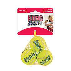 KONG® Air Dog® Tennis Ball Set Squeaker Dog Toy
