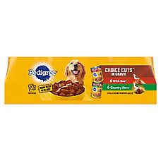 PEDIGREE® CHOICE CUTS® Variety Pack Dog Food