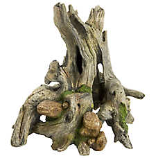 Top Fin® Mossy Driftwood Aquarium Ornament