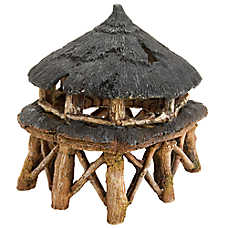 Top Fin® Tiki Hut Aquarium Ornament