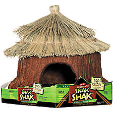 eCOTRiTiON™ SNAK SHAK™ Edible Small Animal Natural Hide Away