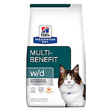 Hill's® Prescription Diet® w/d Low Fat- Diabetic- Gastrointestinal Cat Food