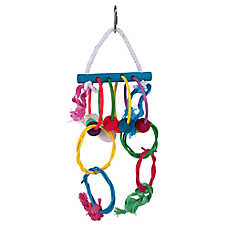 Prevue Pet Products Stick Staxs Hula Hoop Bird Toy