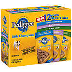 PEDIGREE® Little Champions® Traditional Ground Dinner 12 Pouch Variety Pack Dog Food