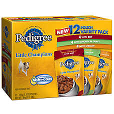 Pedigree® Slices Variety Pack Small Dog Food
