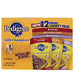 PEDIGREE® LITTLE CHAMPIONS® Variety Pack Dog Food