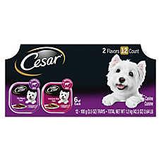 Cesar® Canine Cuisine Dog Food - MultiPack