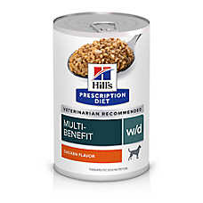Hill's® Prescription Diet® w/d Low Fat Diabetic Gastrointestinal Adult Dog Food