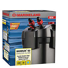 Marineland c160 canister filter fish filters petsmart for Petsmart fish filters