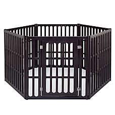 IRIS 6-Panel Heavy Duty Plastic Pet Pen