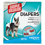 Simple Solutions Disposable Dog Diapers