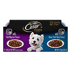 Cesar® Canine Cuisine Gourmet Filets™Dog Food - 12 Pack