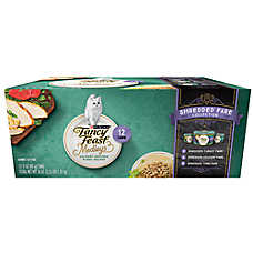 Fancy Feast® Medleys Shredded Fare Adult Cat Food - Variety Pack, 12ct