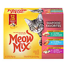 Meow Mix® Market Select Variety Pack Adult Cat Food