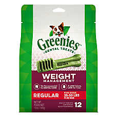 GREENIES® Weight Management Regular Dental Dog Treat