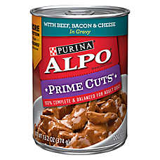 Purina® ALPO® Prime Cuts Adult Dog Food - Beef, Bacon & Cheese
