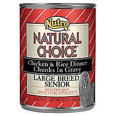 NUTRO® NATURAL CHOICE® Large Breed Senior Dog Food
