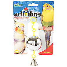 JW Pet® Insight Activitoys Disco Ball Bird Toy