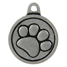 TagWorks® Boutique Collection Paw Personalized Pet ID Tag
