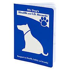 MDI Health & I.D. Record Dog Passport