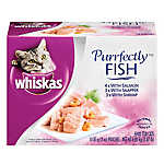 WHISKAS® Perfectly Fish Variety Pack Cat Food