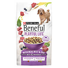 Purina® Beneful® Playful Life Adult Dog Food - Beef & Egg