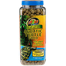 Zoo Med™ Maintenance Formula Natural Aquatic Turtle Food
