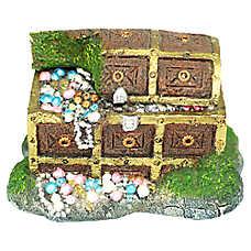 Top Fin® Treasure Box Bubbler Aquarium Ornament