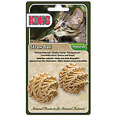 KONG® Naturals Straw Ball Cat Toy