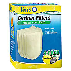 Tetra® Whisper EX20 Carbon Filters