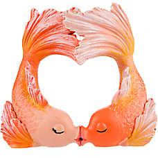Top Fin® Kissing Fish Bubbler Aquarium Ornament