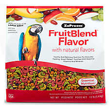 ZuPreem® FruitBlend Large Bird Food