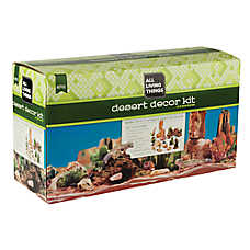 All Living Things® Desert Reptile Decor Kit