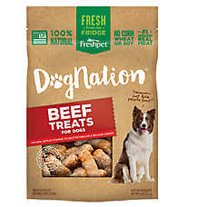 Freshpet® Dognation® Dog Treat - Natural, Beef
