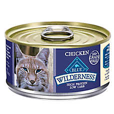 BLUE Wilderness® Adult Cat Food - Natural, Grain Free, Chicken