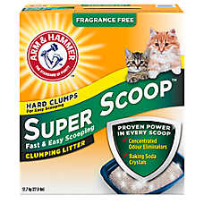 ARM & HAMMER™ Super Scoop® Fragrance Free Clumping Cat Litter