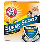 ARM & HAMMER™ Super Scoop® Fresh Scent Clumping Cat Litter