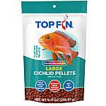 Top Fin® Cichilid Color Enhancing Large Pellets Fish Food
