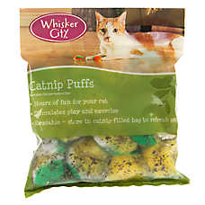 Whisker City® Catnip Puffs Cat Toy