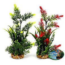 Top Fin® Artificial Flowers Aquarium Plant